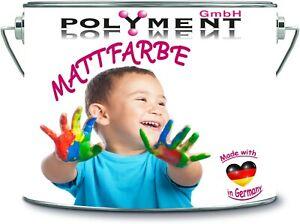 2 Liter Innenfarbe Wandfarbe Dispersionsfarbe frische Trendfarbtöne