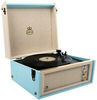 Gpo Bermuda Turntable Usb Removable Legs Blue Crm Turntable
