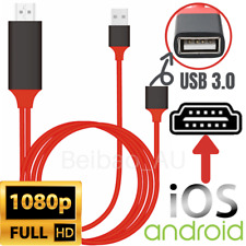 HDMI Cable 1080P Phone to TV HDTV AV Adapter Universal For iPhone Android Type C
