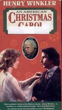 VHS:  AN AMERICAN CHRISTMAS CAROL.....HENRY WINKLER-DAVID WAYNE
