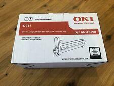 Genuine Oki 44318508 Black Image Drum C711/C711WT - NEW & Sealed 20k Yield