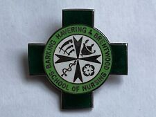 More details for barking havering & brentwood school of nursing vintage enamel hallmarked badge