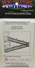 N Scale Miller Eng Micro-Structures F303 Victorian Fence Fencing Kit