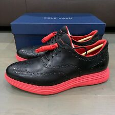 Cole Haan x Staple Pigeon Black Red New Original Grand Wingtip Oxford Size 12