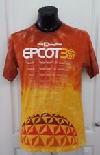 Disney World Epcot Center 30th Anniversary Tie Dye T Shirt Medium Rare Retro