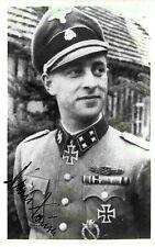 WW2 WAFFEN ELITE PANZER STURMBANNFHR.HANS HAUSER KNIGHTS CROSS VIENNA 2X SGND.F