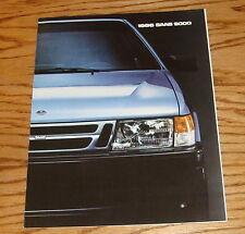 Original 1986 Saab 9000 Series Sales Brochure 86