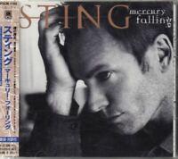 STING Mercury Falling JAPAN CD with OBI POCM-1165