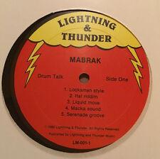 MABRAK Drum Talk 1980 OG killer ROOTS DUB classic lp  NM