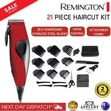 Remington Electric Hair Clippers 21Pce Mens Clipper Trimmer Shaver Home Haircut