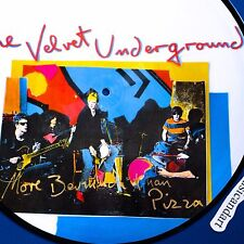 ANDY WARHOL ART PICTURE DISC THE VELVET UNDERGROUND VINYL LP ORIGINAL PRESS EX+