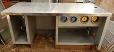 WAITRESS STATION w/ CUP HOLDERS ~ STAINLESS STEEL ~ BEAUTIFUL!