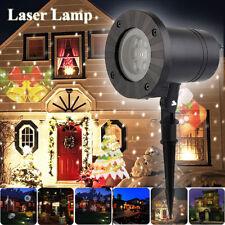 Christmas Laser Projector Light Moving LED Indoor Outdoor Waterproof Garden Lamp