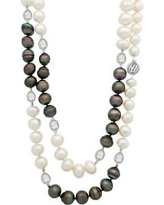 Assael 18k White Gold And South Sea Pearl Necklace N4416MSRP $26200