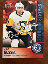 2018 UD National Hockey Card Day America Stars In Stripes #USA-6 Phil Kessel