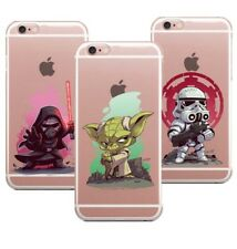 Heroes Villains Star Wars Silicone Case Cover iPhone XS Max XR X 8 7 6 Plus 5