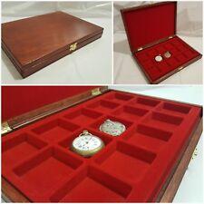 Cofanetto per Orologi da taschino da collezione Coins&More