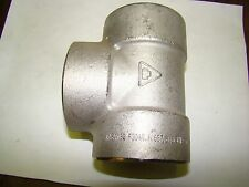 1pc. Unknown Manufacture SS Tee Fitting A/S182, F304/L, N667, B18 3M, New
