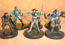 Dungeons & Dragons Miniatures Lot  Halfling Player Characters !!  s108