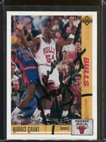 Horace Grant Chicago Bulls 1991 Upper Deck Signed Card Authentic Autograph Auto