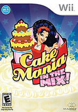 Cake Mania In The Mix Wii Game >Brand New - In Stock - Fast Ship<