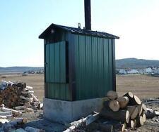 Plan Furnace Wood burner exterior (boiler outdoor)build