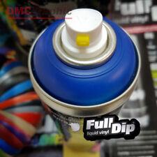 Blue Matte FullDip Liquid Rubber Vinyl Aerosol Spray can Paint like Plasti Dip