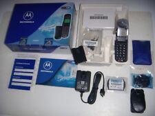 MOTOROLA V3688 NUOVO DATTERO GSM STARTAC 1999 ORIGINALE + SCATOLA E ACCESSORI