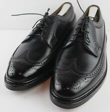 FLORSHEIM Royal Imperial 96624 Kenmoor Black V-Cleat 5-Nail Shoes Size 11.5E
