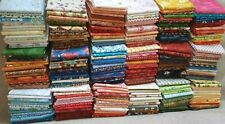 15 Fat Quarters Cotton Quilt Fabric Prewashed No Duplicates Assorted Lot Choice