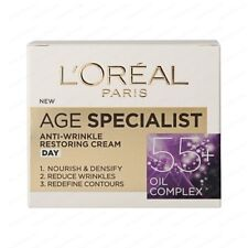 L'OREAL Age Specialist 55+ Anti-Aging DAY Face Cream Hydrates Skin 50 ml