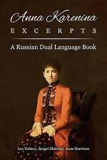 Anna Karenina Excerpts: A Russian Dual Language Book by Tolstoy, Leo -Paperback