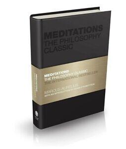 Meditations Marcus Aurelius Philosophy classic capstone hardcover hard back book