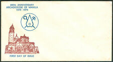 400th Anniversary ARCHDIOCESE OF MANILA 1579-1979 First Day Cover