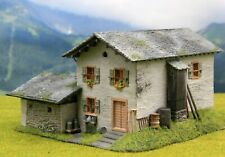 ☝️Diorama H0 Berghaus** Kibri** Berghof Patiniert #Modellbau aus Potsdam