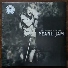 Pearl Jam - Self Pollution Radio '95 LP [Vinyl New] Limited Ed 140gm Clear Vinyl