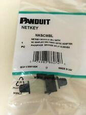 Panduit Fiber Optic Adapter NKSCMBL