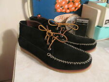 Eastland Urban Outfitters Oneida 1955 Shoe Boots Suede  Mocassin Black size 12 D