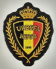 Belgium FC Football Club Soccer Patch Badge Embroidered Iron On Applique