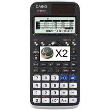 2 Batteries for Casio Fx-991Ex Fx-991De X calculator