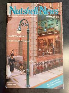 Vintage Nutshell News, Dollhouse Miniatures Magazines!