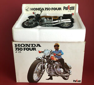 1975- Polistil 1/15 Honda CB750 Four Motorcycle No100 VGIB