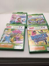 Dance & Learn, Disney Princesses, Frozen, Doodle Craft Leap TV Video Leap Frog