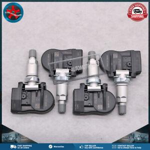 4PCS For Fiat 124 Mazda 2 5 CX-9 MX-5 IV Tire Pressure Sensor TPMS BHB637140A