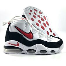 Nike Air Max Uptempo '95 White Red Black Bulls Pippen CK0892-101 Men's 8-11