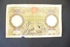 RARE ANCIEN BILLET  100 LIRE  16 DECEMBRE  1932 - U.37   ITALIE - TB  !!
