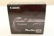 NEW 📷 Canon PowerShot G7X Mark II 20.1 MP Compact Digital Camera WiFi NFC Black