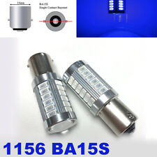 2X 1156 33SMD LED PROJECTOR LENS Blue BULB BACKUP REVERSE LIGHT FOR VW