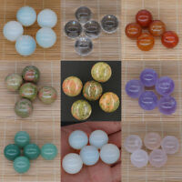 5PC (20MM) Wholesale Natural Gemstone Crystal Reiki Healing Sphere Ball