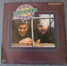 Doc & Merle Watson, lonesome road,  LP - 33 tours